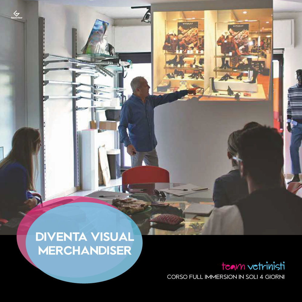 Corso VISUAL MERCHANDISER Full Immersion